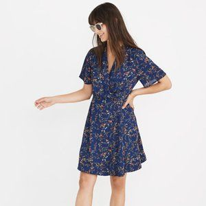 NWT Madewell Amaranth Wrap Dress floral